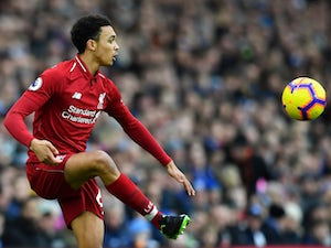 Liverpool full-back Trent Alexander-Arnold pictured in January 2019