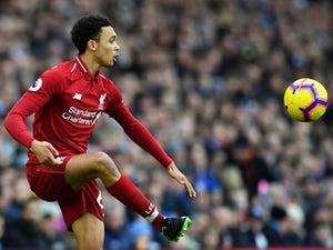 Alexander-Arnold and Milner train ahead of Bayern Munich clash