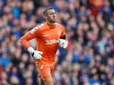 Rangers goalkeeper Allan McGregor pictured in December 2018