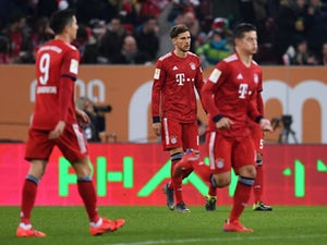 Bayern concede after just 14 seconds against Augsburg