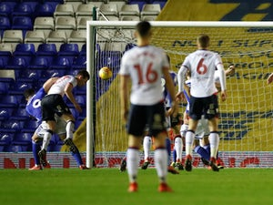 Connolly makes most of lenient refereeing as Bolton win at Birmingham