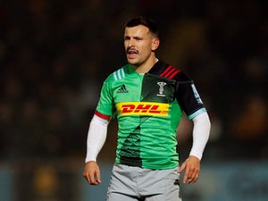 Harlequins stun Premiership leaders Exeter with last-gasp penalty try