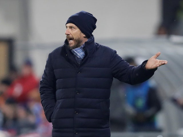 Roma boss Eusebio Di Francesco pictured in December 2018