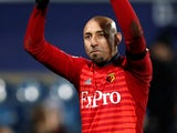 Watford goalkeeper Heurelho Gomes in action against QPR in the FA Cup on February 15, 2019