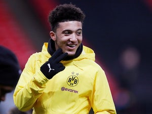 Borussia Dortmund winger Jadon Sancho pictured before the Champions League clash with Tottenham Hotspur on February 12, 2019
