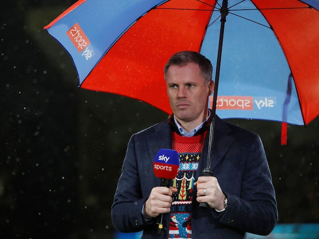 Jamie Carragher pictured in December 2018