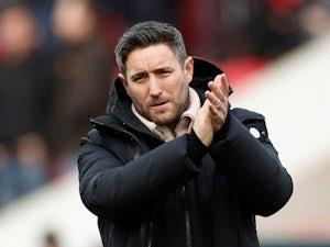 Bristol City boss Lee Johnson applauds on February 17, 2019