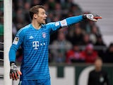Bayern Munich goalkeeper Manuel Neuer pictured in December 2018