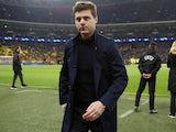 Spurs boss Mauricio Pochettino pictured on February 13, 2019