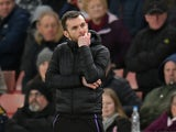 Stoke City manager Nathan Jones pictured on February 9, 2019