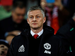 Manchester United manager Ole Gunnar Solskjaer watches on during his side's Champions League clash with PSG on February 12, 2019