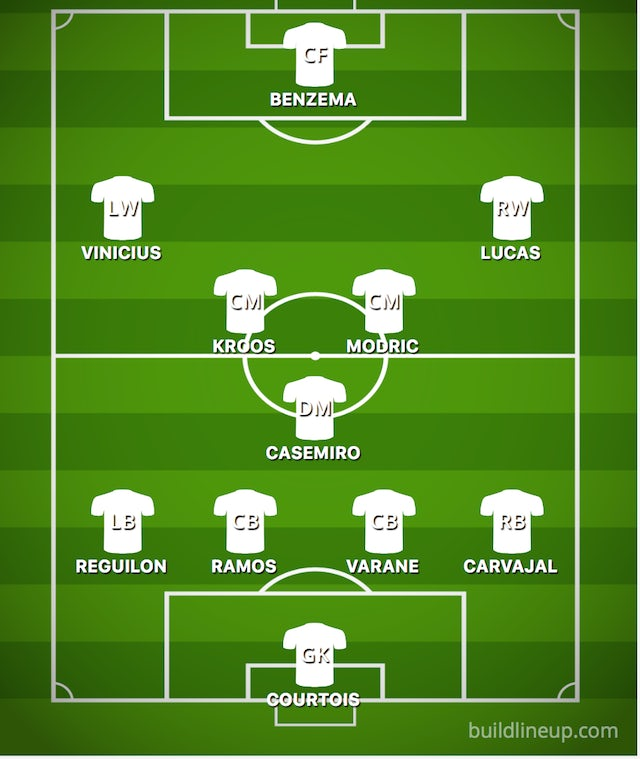 How Real Madrid could line up against Ajax - Sports Mole b1265f1e5
