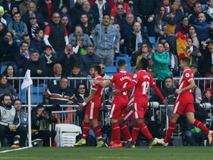 Girona fightback stuns Real at Bernabeu
