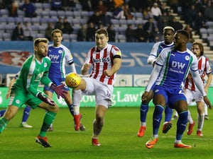Allen closest to breaking deadlock as Stoke draw with Wigan