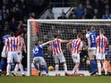 Will Keane gets a late equaliser for Ipswich on February 16, 2019