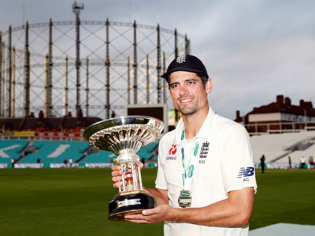 Alastair Cook watched World Cup win in 'disbelief' with Essex teammates