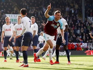 Burnley derail Tottenham's title hopes