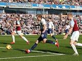Tottenham Hotspur striker Harry Kane scores against Burnley on February 23, 2019