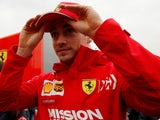 Charles Leclerc pictured on February 21, 2019