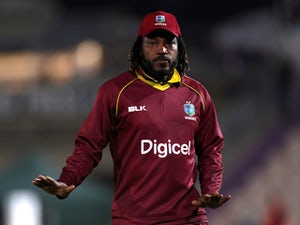 Chris Gayle hits stunning century as West Indies set formidable target