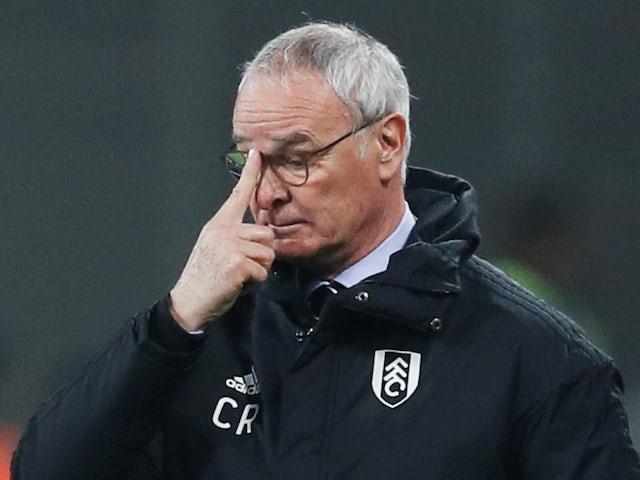 Ranieri: Belief will help Fulham in battle for Premier League survival