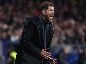 Atletico Madrid manager Diego Simeone on February 20, 2019