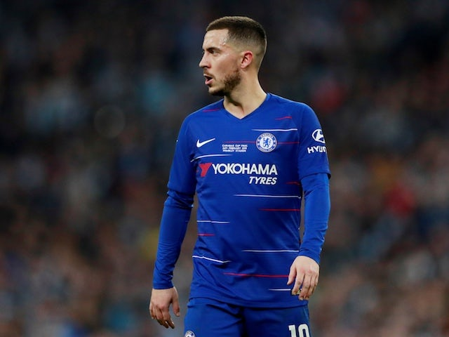 Hazard's wife 'scouts properties in Madrid'