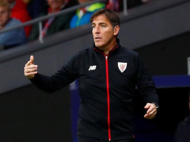 Eduardo Berizzo in charge of Athletic Bilbao in November 2018