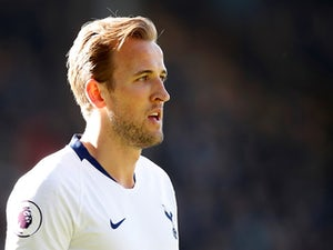 Tottenham Hotspur striker Harry Kane in action during the Premier League clash with Burnley on February 23, 2019