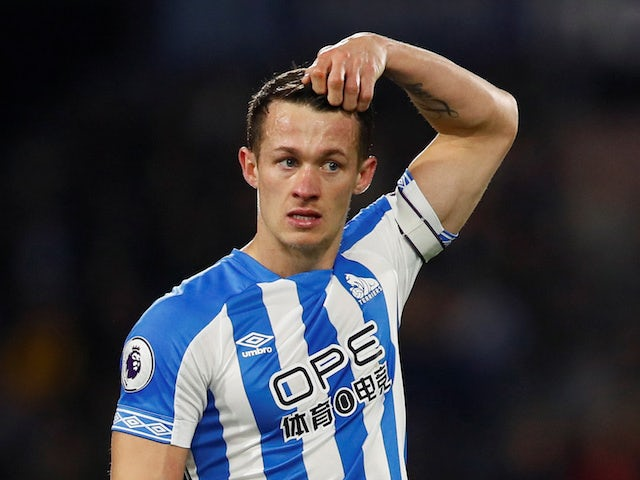 Huddersfield captain Jonathan Hogg pictured in January 2019