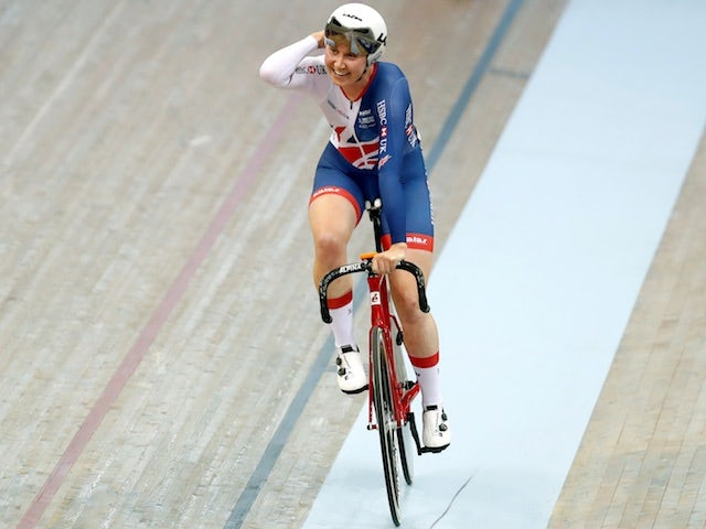 Katie Archibald fuelled by hunt for more gold