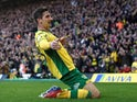 Norwich City's Kenny McLean celebrates scoring their third goal against Bristol City on February 23, 2019