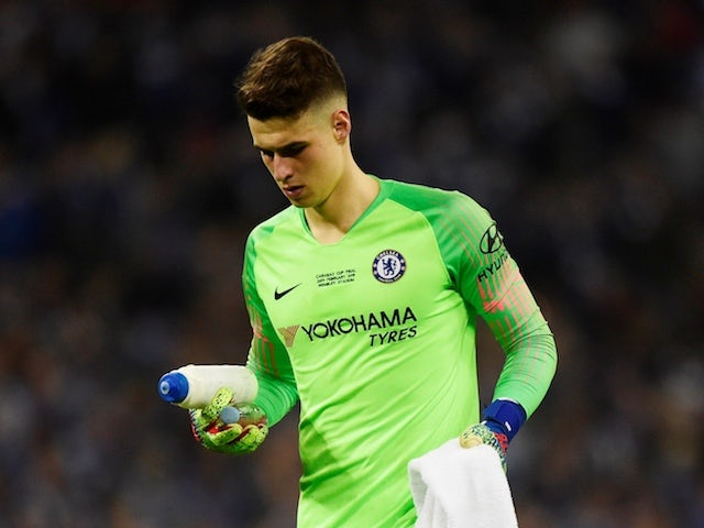 premium selection 5dca7 3b21d Chris Sutton calls for Chelsea keeper Kepa Arrizabalaga to ...
