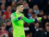 Chelsea goalkeeper Kepa Arrizabalaga in action during the EFL Cup final against Manchester City on February 24, 2019