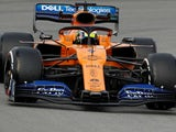 Lando Norris in action during F1 testing on February 19, 2019