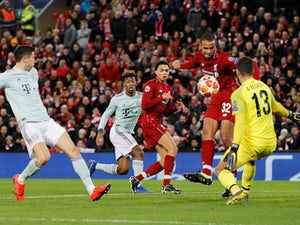 Bayern hold Liverpool in Anfield stalemate