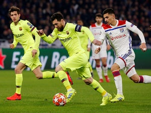 Live Commentary: Lyon 0-0 Barcelona - as it happened