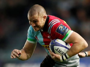 Mike Brown scores record-equalling try for Harlequins in win over Bristol
