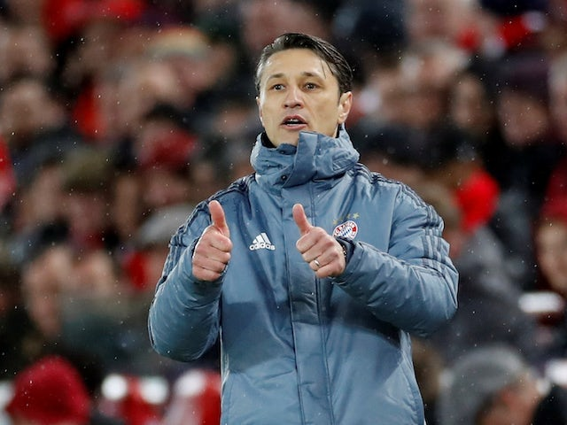 Kovac happy as Bayern hit the front again with big win
