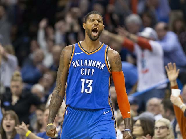 Result: Paul George floats OKC over Jazz with less than a second on the clock