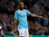 Manchester City winger Raheem Sterling in action during the EFL Cup final against Chelsea on February 24, 2019