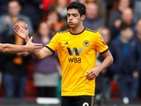 Raul Jimenez in action for Wolves on February 17, 2019