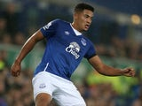Tyias Browning in action for Everton in 2015