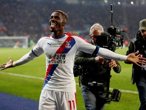 Palace striker Zaha glad to be back in the goals