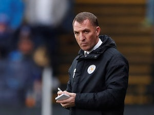 Focus on Brendan Rodgers' first game in charge of Leicester