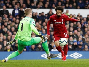 Liverpool denied top spot by Everton