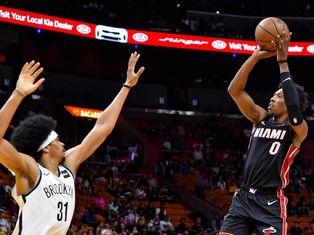 Result: Miami Heat keep play-off hopes on track with win over Brooklyn Nets