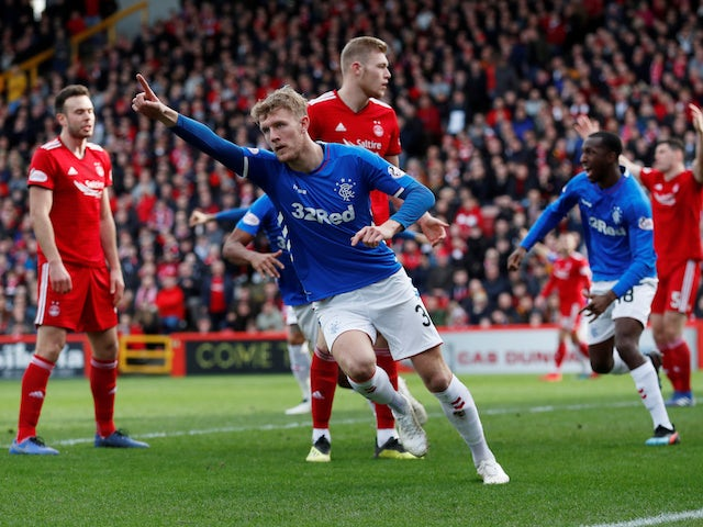 Result: Rangers force Scottish Cup replay with draw at Aberdeen