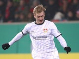 Bayer Leverkusen's Julian Brandt in action in February 2019