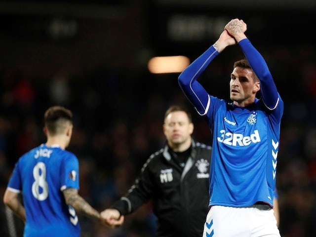 Kyle Lafferty to discuss terms of Rangers exit